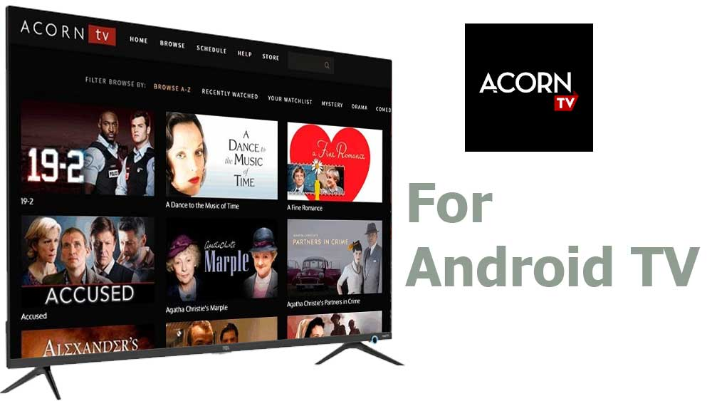 Acorn TV for Android TV